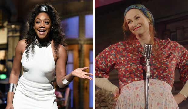 Tiffany Haddish and Jane Lynch
