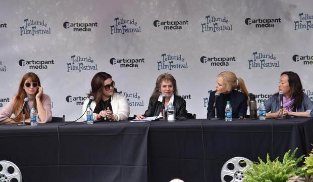 Telluride Film Festival panel featuring Marielle Heller, Melissa McCarthy, Annette Insdorf, Nicole Kidman and Karyn Kusama