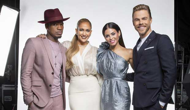 World of Dance judges and host