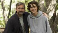 Steve Carell and Timothee Chalamet in Beautiful Boy