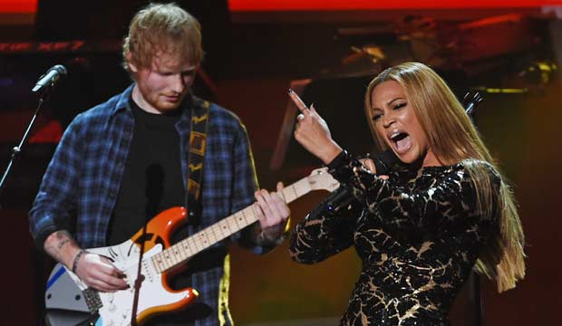 Ed Sheeran and Beyonce are 'Perfect' for Record of the Year: 'It has Grammy bait written all over it,' say forum posters