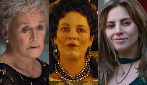 Oscars Does Olivia Colman Going Lead Hurt Lady Gaga Or Glenn Close