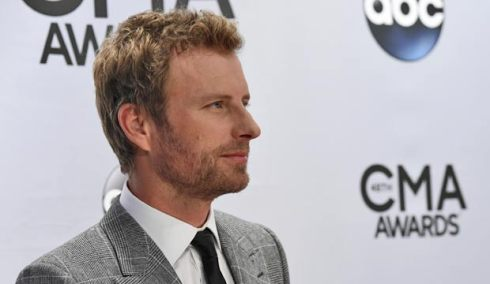 Dierks Bentley at the CMA Awards