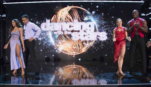 Tinashe and DeMarcus Ware on DWTS