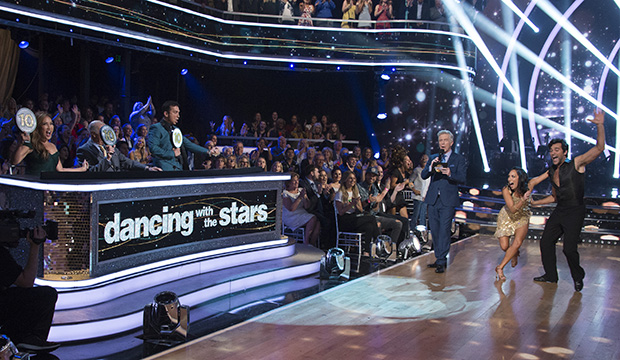Carrie Ann Inaba, Len Goodman, Bruno Tonioli, Tom Bergeron, Cheryl Burke and Juan Pablo Di Pace, Dancing with the Stars