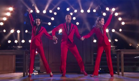 Tinashe, Brandon Armstrong and Amy Purdy, Dancing with the Stars