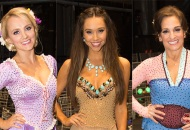 Evanna Lynch, Alexis Ren and Mary Lou Retton, Dancing with the Stars