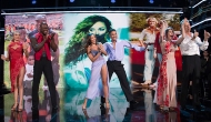 Lindsay Arnold, DeMarcus Ware, Tinashe, Brandon Armstrong, Emma Slater and John Schneider, Dancing with the Stars