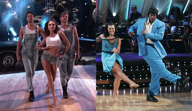 Whose Week 4 'Dancing with the Stars' routine was worse: Grocery Store Joe's dumpster fire salsa or Master P's 8-point paso doble?
