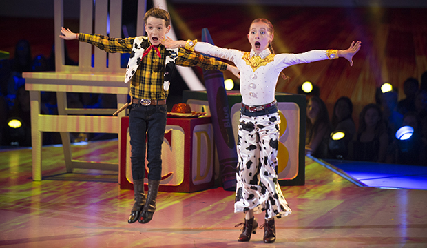 Jason Maybaum and Elliana Walmsley, Dancing with the Stars: Juniors