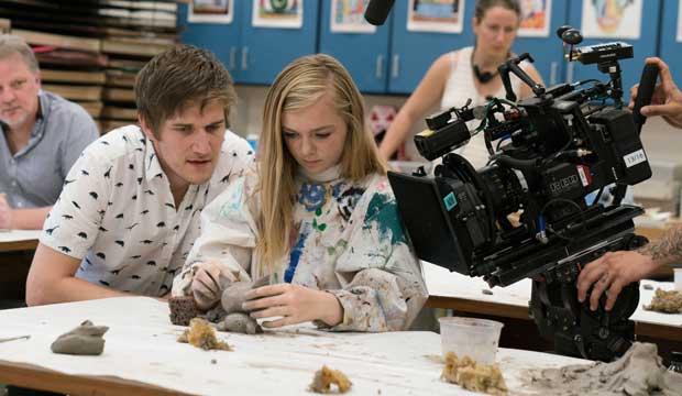 Bo Burnham directing Eighth Grade