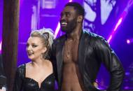 Keo Motsepe and Evanna Lynch on DWTS