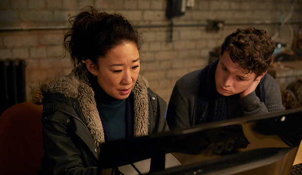 Sandra Oh and Sean Delaney, Killing Eve