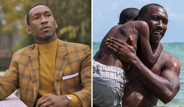 Mahershala Ali in Green Book and Moonlight