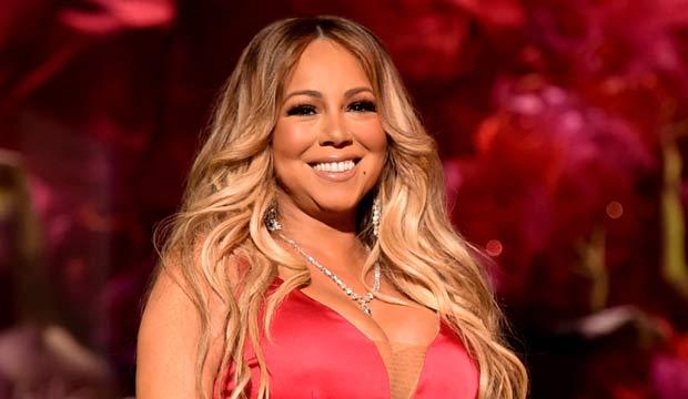 Mariah Carey at the AMAs 2018