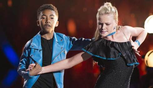 Miles Brown on DWTS Juniors