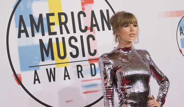 Taylor Swift makes history as the most awarded woman at the American Music Awards