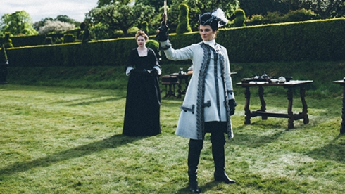 Emma Stone and Rachel Weisz, The Favourite