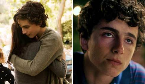 Timothee Chalamet in Beautiful Boy and Call Me by Your Name