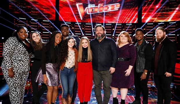 The Voice Season 15 Top 10