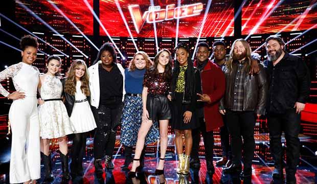 The Voice Season 15 Top 11