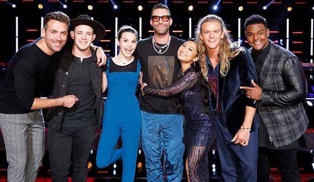 The Voice Team Adam Levine