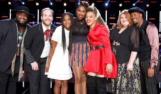 The Voice Team Jennifer Hudson