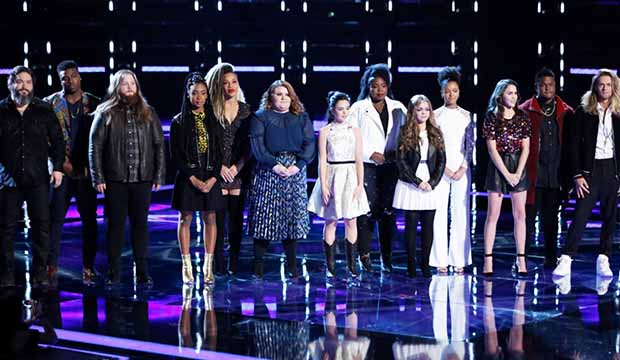 The Voice Top 13 Results Show