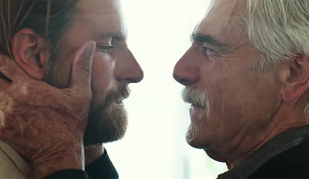 Bradley Cooper and Sam Elliott, A Star Is Born