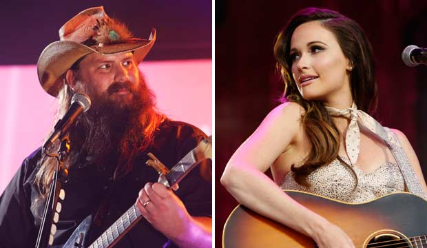 Chris Stapleton and Kacey Musgraves