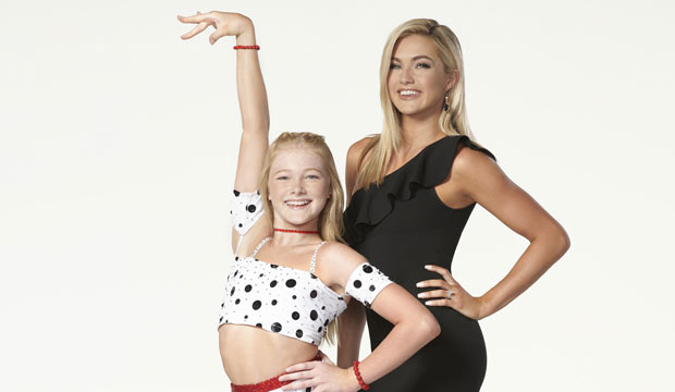 Lindsay and Rylee Arnold on DWTS