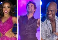 Tinashe, Juan Pablo and DeMarcus on DWTS