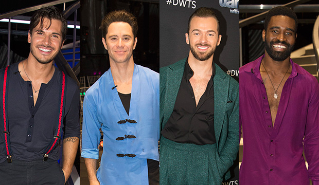 Gleb Savchenko, Sasha Farber, Artem Chigvintsev and Keo Motsepe, Dancing with the Stars