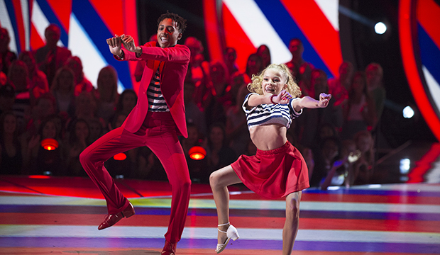 Mandla Morris and Brightyn Brems, Dancing with the Stars: Juniors