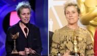 Frances McDormand at the Spirit Awards and Oscars