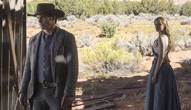 James Marsden and Evan Rachel Wood, Westworld