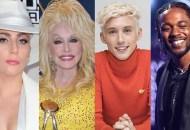 Lady Gaga Dolly Parton Troye Sivan Kendrick Lamar
