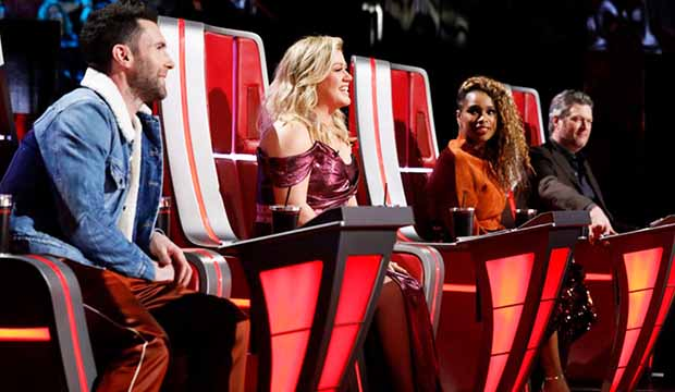 The Voice Coaches Top 10 Season 15