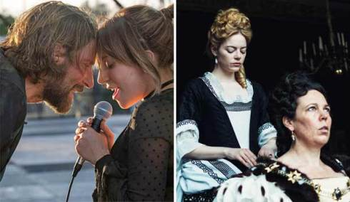 A Star is Born and The Favourite