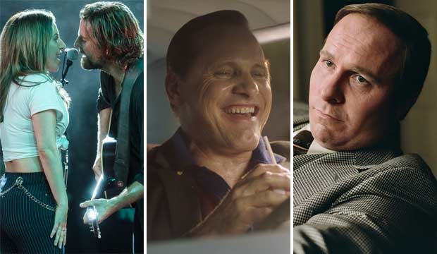 A Star is Born, Green Book and Vice