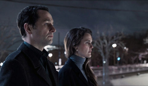 Matthew Rhys and Keri Russell, The Americans