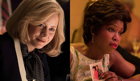 Amy Adams, Vice; Regina King, If Beale Street Could Talk