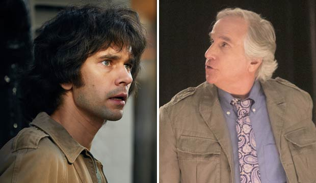 Ben Whishaw and Henry Winkler