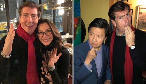 'Crazy Rich' holiday party celebrated Warner Bros' crazy rich year with Michelle Yeoh and Ken Jeong