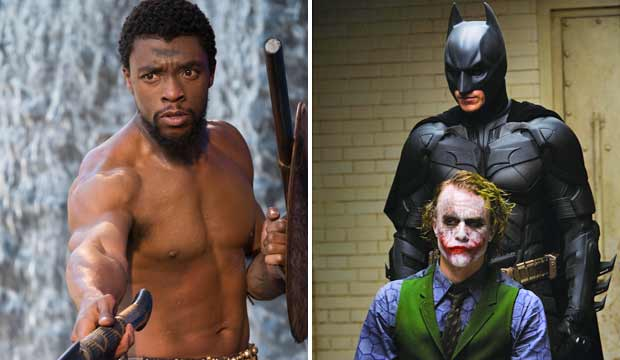 Black Panther and The Dark Knight