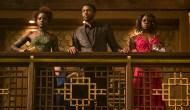 Lupita Nyong'o, Chadwick Boseman and Danai Gurira, Black Panther
