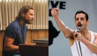 Bradley Cooper, A Star Is Born; Rami Malek, Bohemian Rhapsody