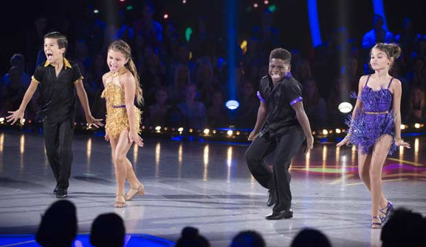 Ariana Greenblatt and Sky Brown on DWTS Juniors