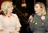 Josie Rourke and Saoirse Ronan