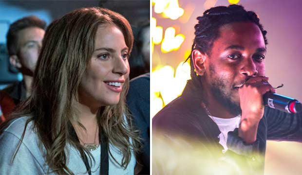 Lady Gaga and Kendrick Lamar
